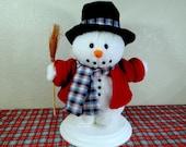 Vintage Santa's Best Animated Snowman, Snowman Collectible, Holiday Snowman, Holiday Decor, Snowman, Animated Christmas Snowman