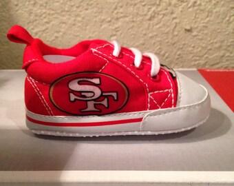 san francisco 49ers shoes etsy