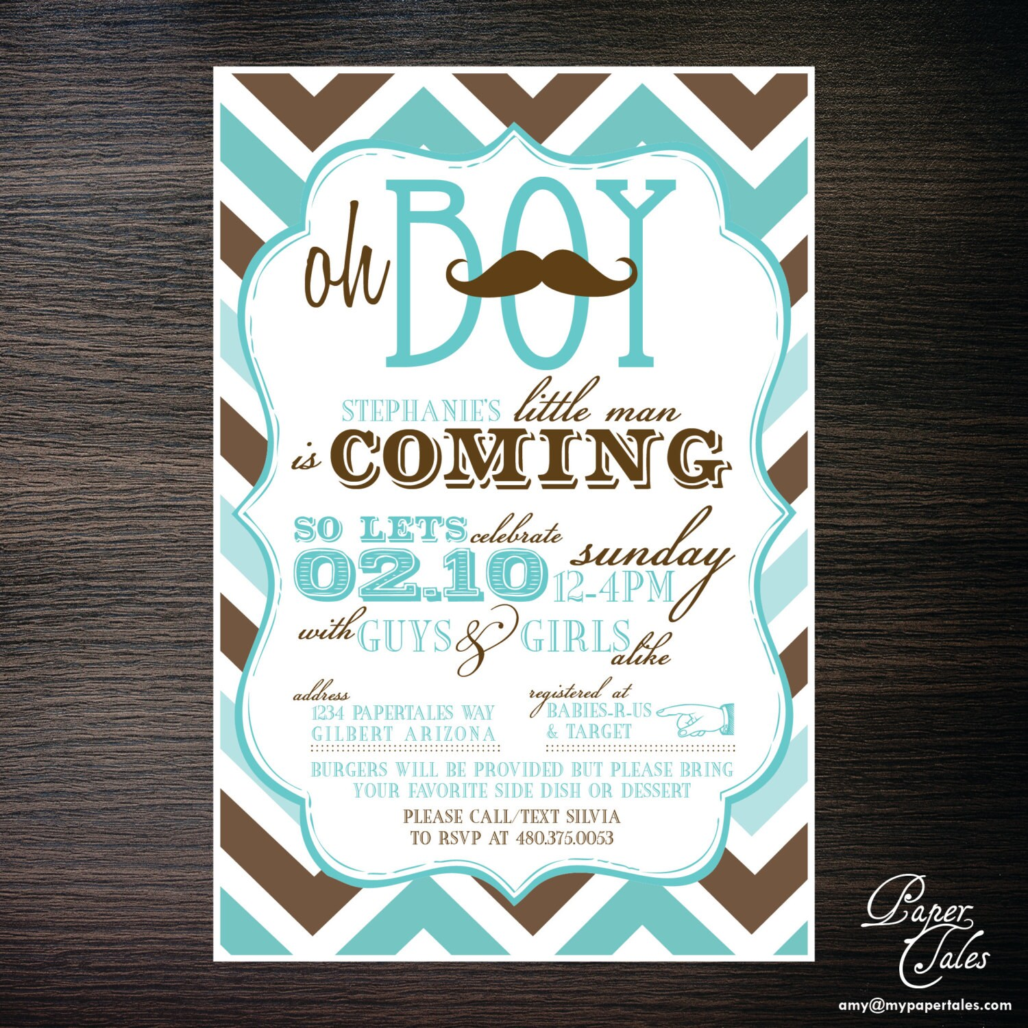 mustache co ed baby shower invitations by papertalescustom