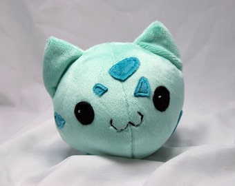 Round Bulbasaur Plush- Cute Pokemon Doll