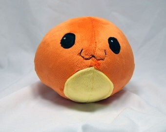 Round Charmander Plush- Cute Pokemon Doll