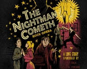 "The Nightman Cometh - It's Always Sunny in Philadelphia artwork - signed glossy poster - 11""x14"""