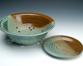 berry bowl with plate
