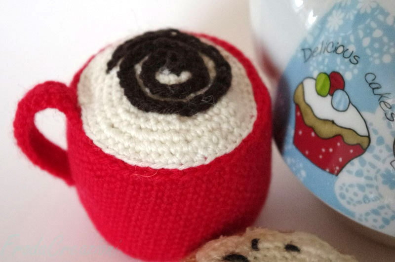 regalino, Play set amigurumi breakfast handmade