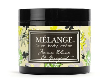 Melange Mimosa Blossom & Citron Luxe Body Creme: 125 gr.