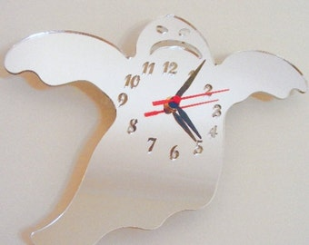 Ghost Clock Mirror - 2 Sizes Available