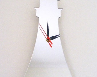 Lighthouse Clock Mirror - 2 Sizes Available