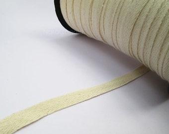 Twill Cotton Ribbon, Cotton Tape 140 Yards