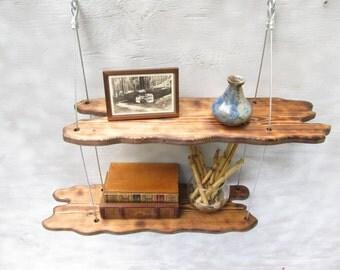 driftwood shelves, display shelving, shelving system,wall shelves, home decor