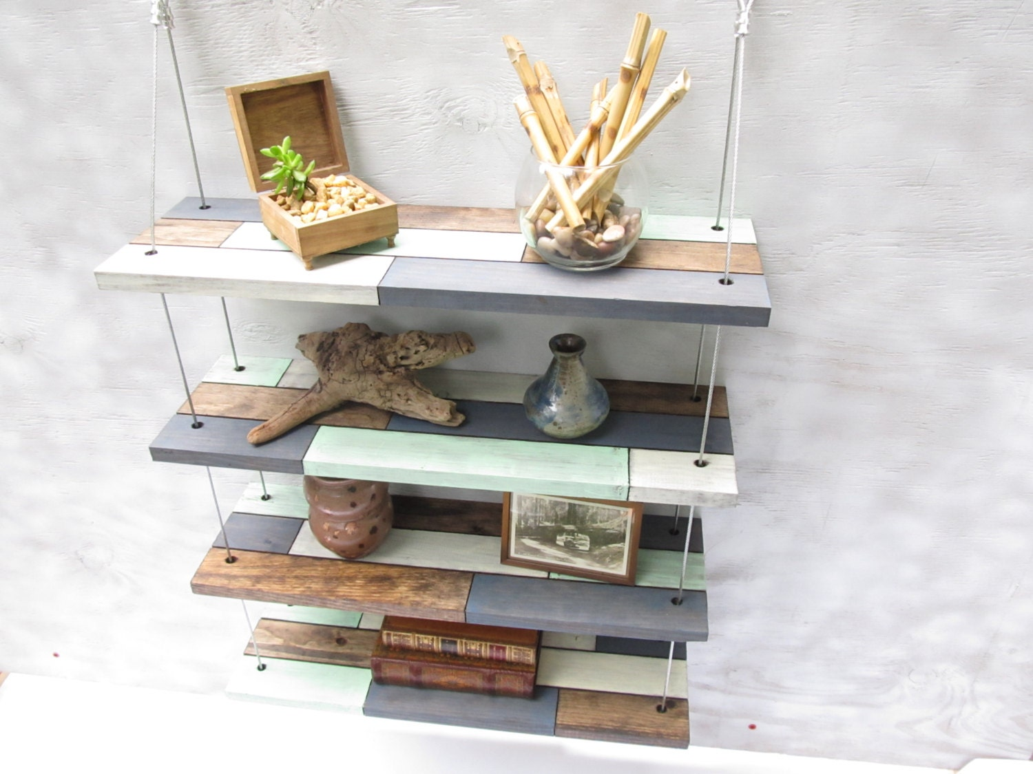 Modern Floating Shelves Decorating Ideas: Wall Shelves Industrial Shelves Floating Shelveshome Decor