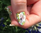 Wendy Davis nail decals