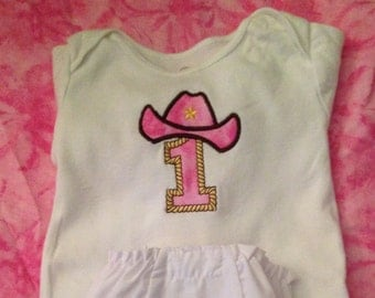 Cowgirl Baby Onesie