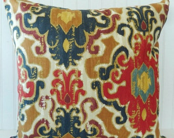 Popular Items For Blue Brown Pillow On Etsy