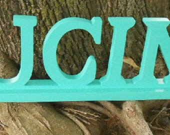 Upcycled, Aqua, Ocean Mist, Shabby Chic, Wood, Beach House, Shabby Chic, Kitchen Sign