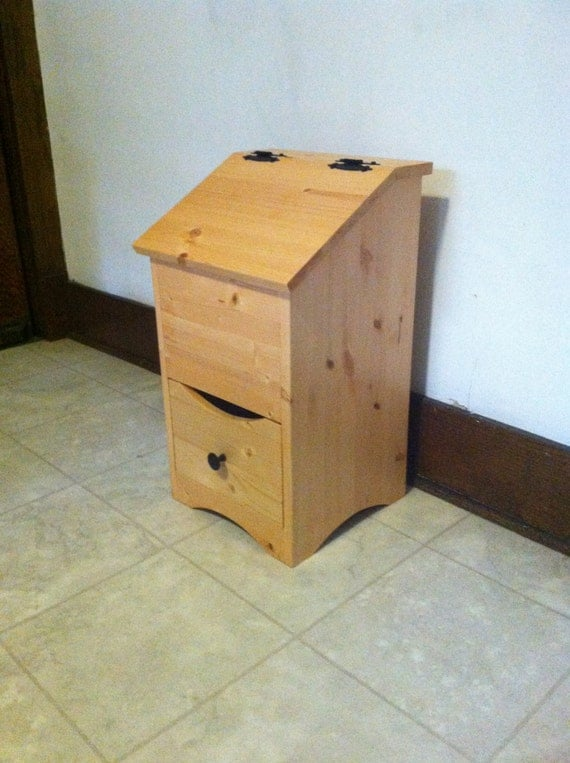 wooden potato and onion storage bin. Black Bedroom Furniture Sets. Home Design Ideas