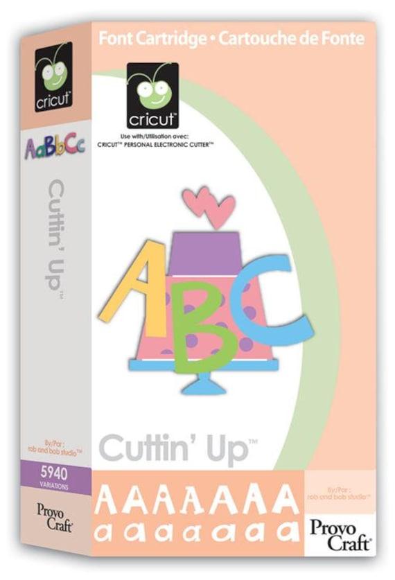 cuttin u0026 39  up die cut cricut cartridge