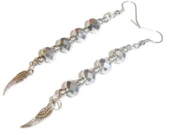 Moonlit Flight earrings