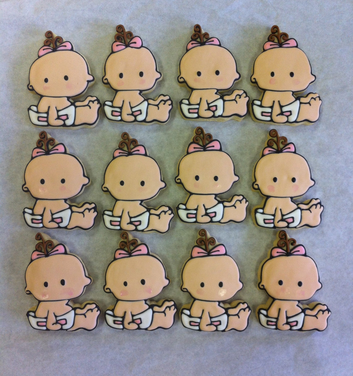 Baby Shower Cookie Favors Sweet Baby Cookies For Baby