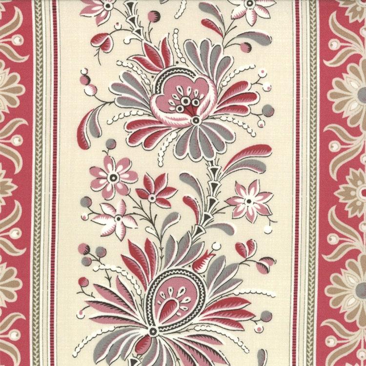 La Belle Fleur floral Pearl Moda Fabrics French General