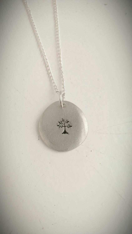 Tree necklace - nature jewellery - pagan jewelry - spiritual necklace - Spring, nature, hippie, boho jewellery