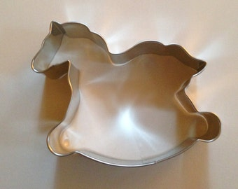 "4.25"" Rocking Horse Cookie Cutter"