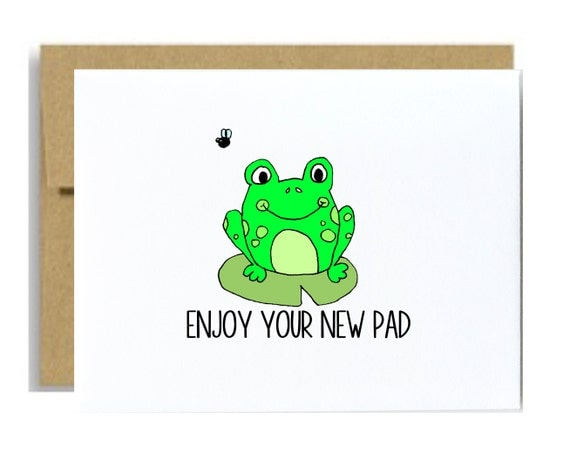 Items Similar To Housewarming Card New Home Enjoy Your