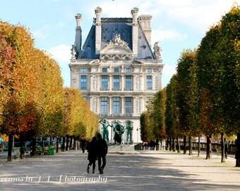 Paris Photography - France Photography - Jardin Des Tuileries - Travel Photography - Fine Art Photography - Fall Photography - Art Print