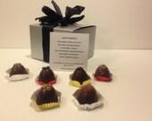Holiday Liquor Chocolate Truffles Baileys Irish Cream Chambord Blackberry Grand Marnier Tiramisu Creme Brulee