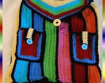 Crochet Back Pack, Backpack