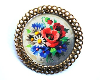 French Vintage Pin