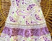 Organic Baby Dress, Girls summer dress