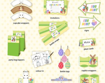 Easter Party Printables Pack