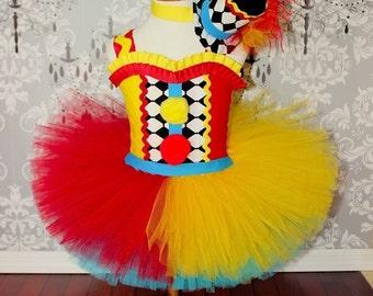 Deluxe clown tutu