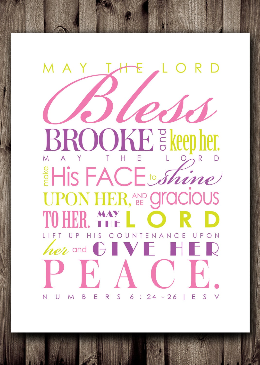 Dorm Room Wall Decor Etsy : Dorm room decor personalized scripture wall art digital