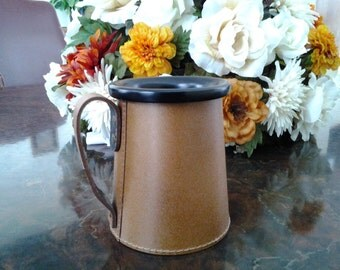 A Genuine Cowhide Leather Cup