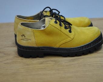 Vintage PANAMA JACK leather men shoes....(009)