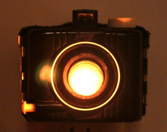 Old-fashioned Cute Nightlight - Kodak Baby Brownie Special