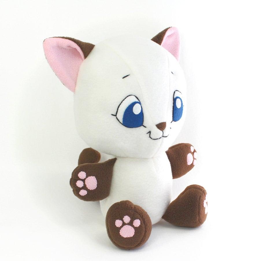 Pdf Sewing Pattern Cuddle Kitten Stuffed Animal Easy