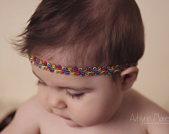The Woven Rainbows Crown