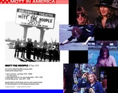 DVD • MOTT in AMERICA. 1974 American tour video shot and edited by Morgan Fisher. Signed, with extras. Free shipping worldwide!
