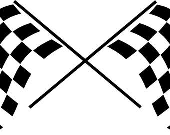 Race Car Flag Etsy