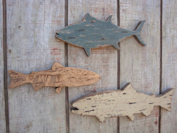 Fish Wall Decor Wood : Unavailable listing on etsy
