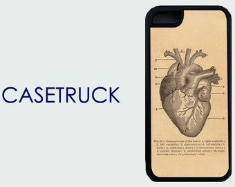 Heart Anatomy Surgical Biology NEW iPhone 4 4s 5 5s 5c 6 6+ 6 Plus Custom Case Cover Plastic Rubber Silicone IC21