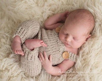 Overalls Pattern, Short Overalls Pattern, Newborn Size, Knitted Overalls Pattern, Patrick