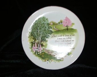 Small Porcleain Plate