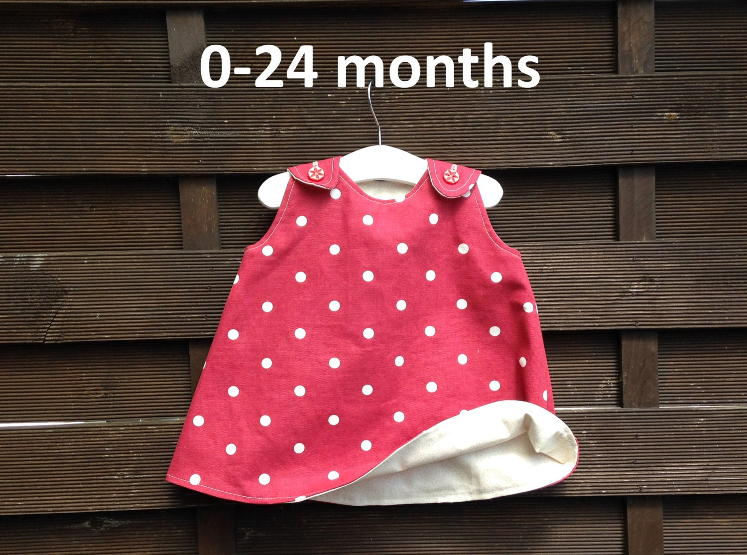 Reversible Baby Dress Pattern Quick and Easy A by