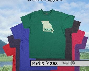 Missouri home tshirt KIDS sizes The Original home tshirt