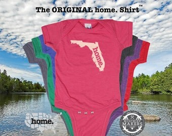 Florida home Baby Bodysuit
