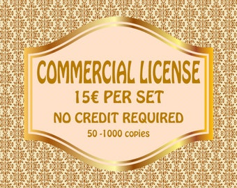 COMMERCIAL LICENSE - No Credit Required