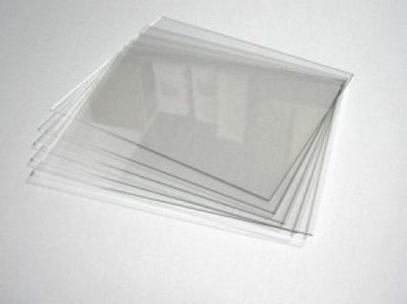 acrylic sheets use as a replacement for glass in by